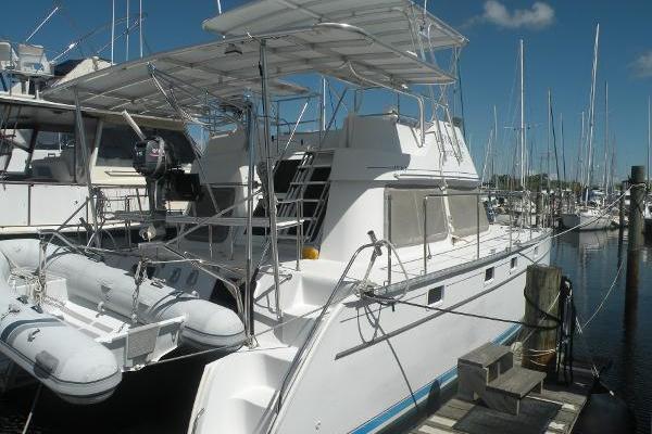 34-ft-PDQ-2005-34 Power Catamaran- Expatriate Merritt Island Florida United States  yacht for sale