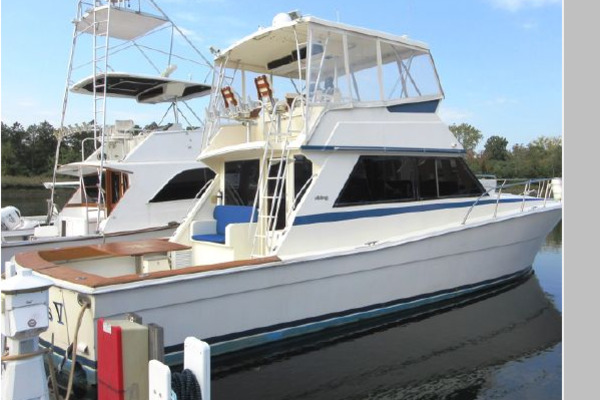 48-ft-Viking-1987-48 Convertible-SUMMERTIME BLUES V Stamford Connecticut United States  yacht for sale