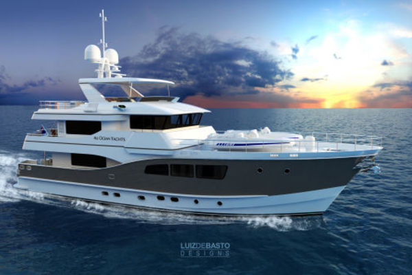 All Ocean Yachts Tri Deck Explorer Yacht