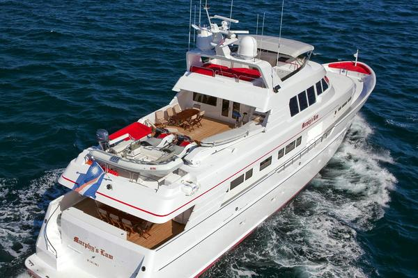 1998 Delta Marine 124 ft Tri-Deck MY - MURPHY'S LAW