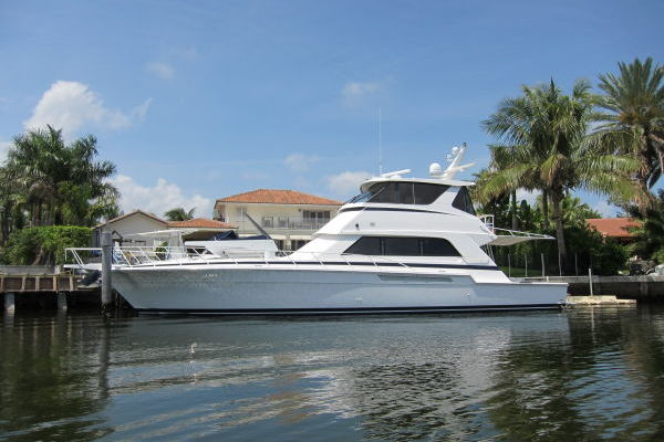 60' Bertram Enclosed Flybridge 1997 | Off Season