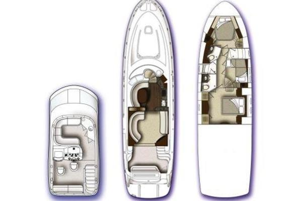 Picture Of: 58' Sea Ray 58 Sedan Bridge 2009 Yacht For Sale | 4 of 35