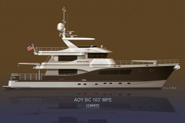 103' Custom Explorer 2021 | All Ocean Yachts Bc 103