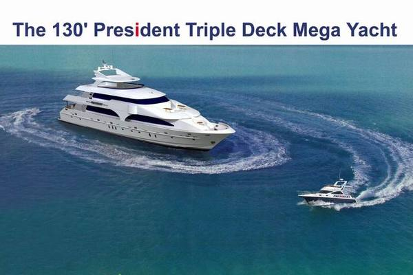 2017 President 130' Triple Deck No Name   Picture 5 of 5