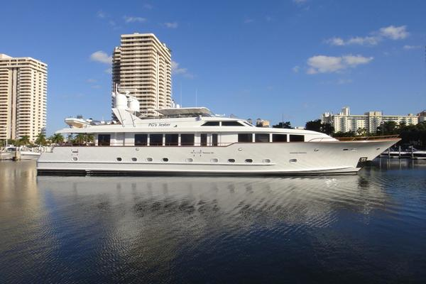 118' Broward Raised Pilothouse My 1995 | Pg's Jester