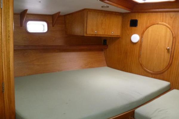 Auzepy Brenneur Sloop  Main Cabin Entry