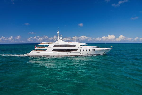 190' Trinity Yachts Motor Yacht 2010 | Skyfall