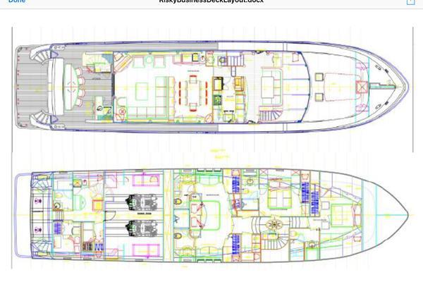 2013Ocean Alexander 90 ft Sky Lounge   Risky Business