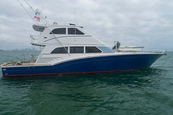 Sea Force IX 81.5 Enclosed Bridge