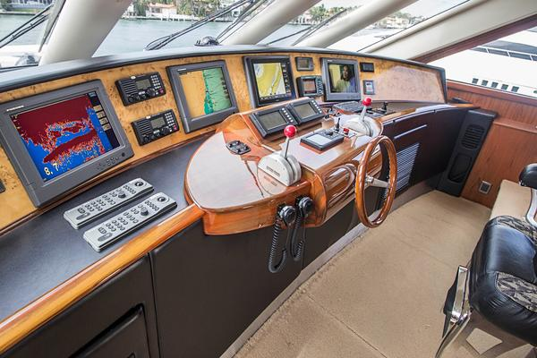 2004Sea Force IX 81 ft 81 5 Enclosed Bridge