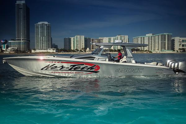 45' Nor-tech 450 Sport Center Console 2019 | Soflo Edition