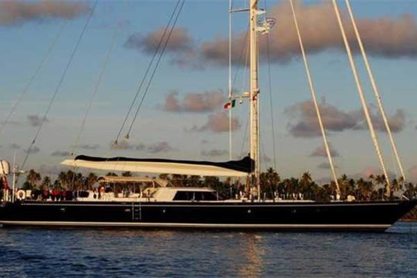 112' Royal Huisman 34m luxury sailing yacht 1994 | Billy Budd II