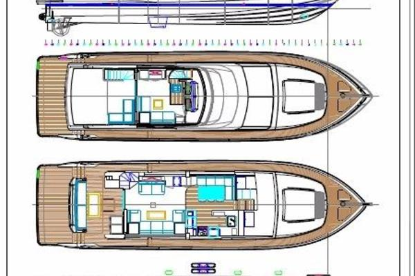 2017Johnson 65 ft 65 SkyLounge M Y