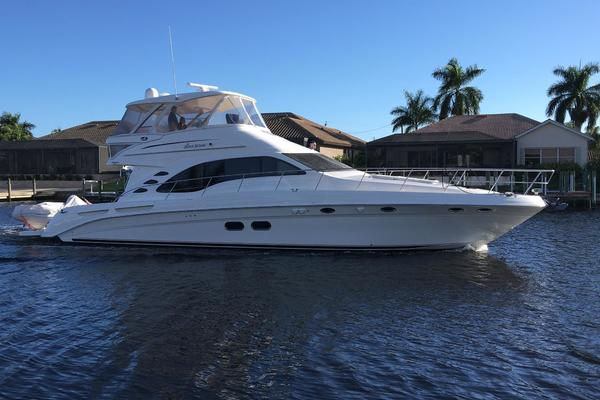 Picture Of: 58' Sea Ray 580 Sedan Bridge 2007 Yacht For Sale | 2 of 129