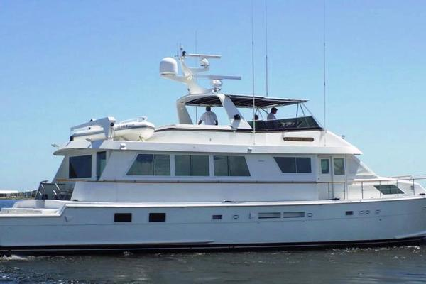 74' Hatteras Motor Yacht With Cockpit 1990 | Cherokee Lady