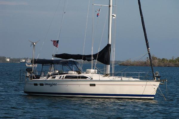 40' Hunter 40.5 Wing Keel 1995 | Imagine