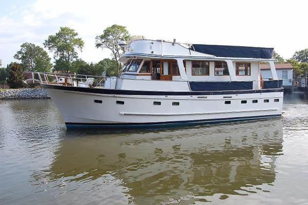 photo of 1981 Marine Trader 50' Trawler, port beam