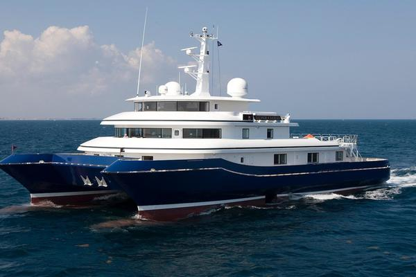 134' Abeking & Rasmussen SWATH 2008 | SILVER CLOUD