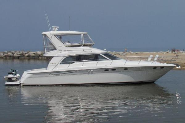 Sea Ray 48' 480 Sedan Bridge Tnt 1999