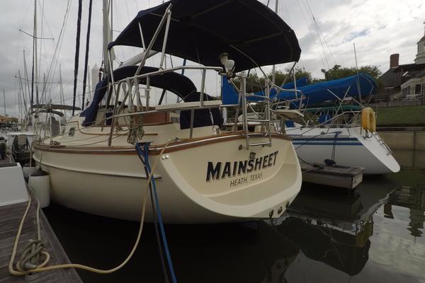 32' Island Packet 320 2000 | Mainsheet