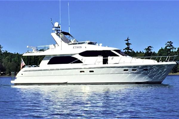 58' Hampton 580 Pilothouse 2008 | Ethos