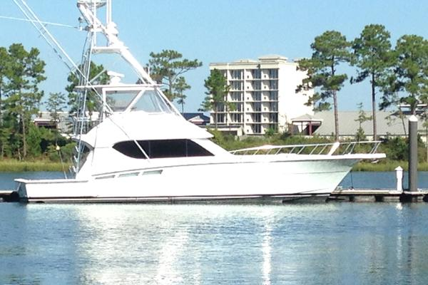 50' Hatteras Convertible 2000 | Everything's Rosie