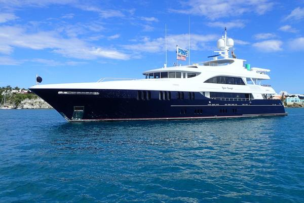 157' Trinity Yachts Tri-deck My 2006 | Never Enough