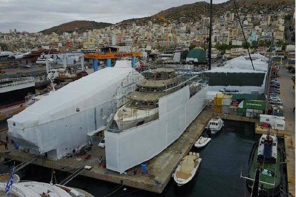 Cosmo Explorer 160' 2018 | 50m Hull Cosmo Explorer
