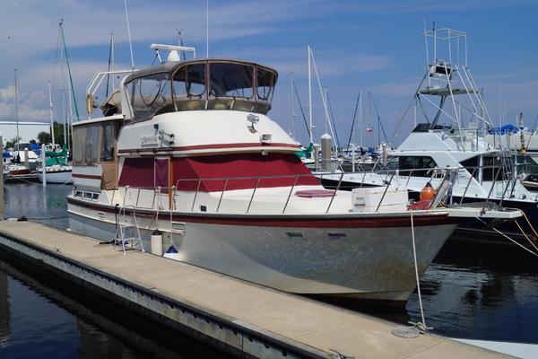 42' Jefferson Sundeck Trawler 1987 | Someday's Here