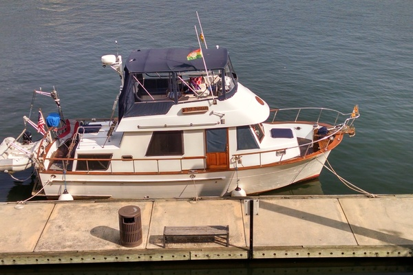 34' Marine Trader 34 Double Cabin 1990 | My Therapy