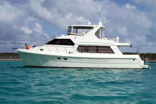 55' Hampton 558 Pilothouse 2005 | Wild Ride