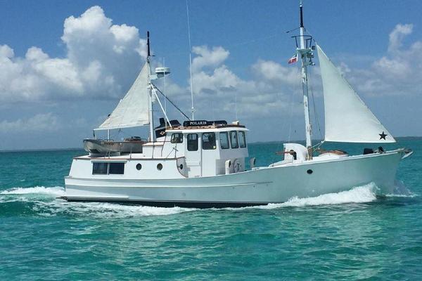 44' Trawler 50 Fathom Penobscot Pilothouse 1974 | Polaris
