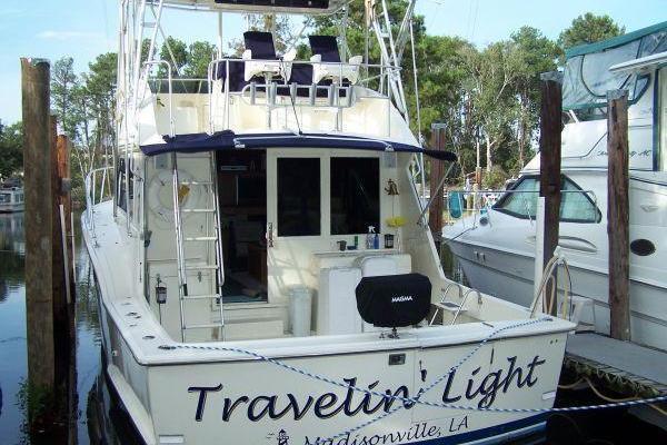 1988Hatteras 45 ft Convertible   Travelin Light
