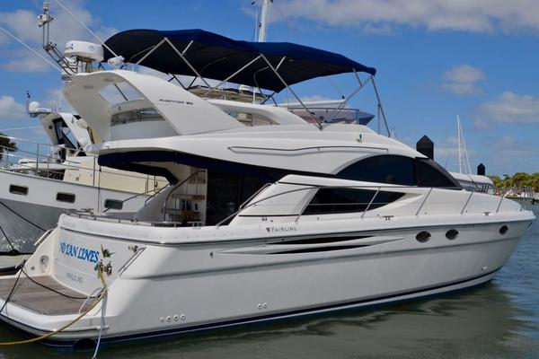 50' Fairline Phantom 50 2007 | No Tan Lines