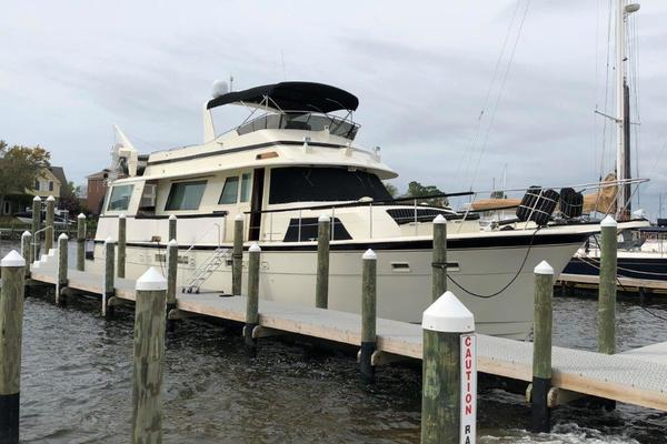 63' Hatteras CMY 1987 | Private Island