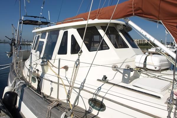 1985Hans Christian 48 ft 48T Pilothouse   I Yam What I Yam