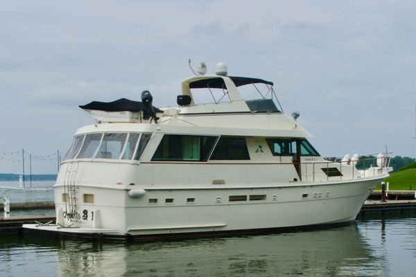 60' Hatteras Motor Yacht 1988 | Ashlie B II