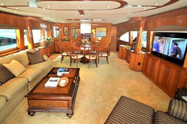 Picture Of: 80' Hatteras Open Bridge MY 2008 Yacht For Sale | 3 of 22