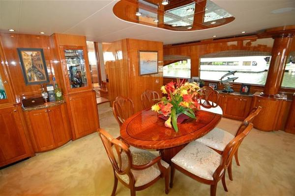 Picture Of: 80' Hatteras Open Bridge MY 2008 Yacht For Sale | 4 of 22