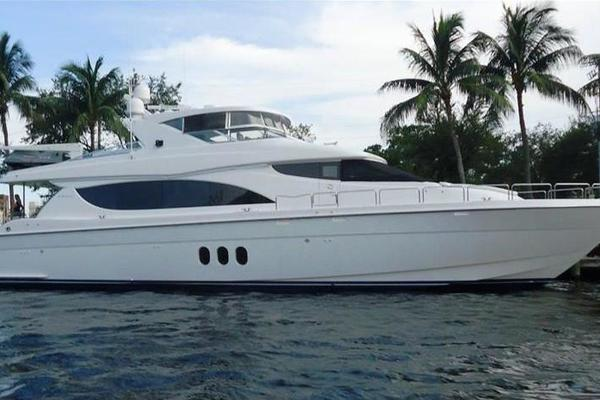 80' Hatteras Open Bridge My 2008 |
