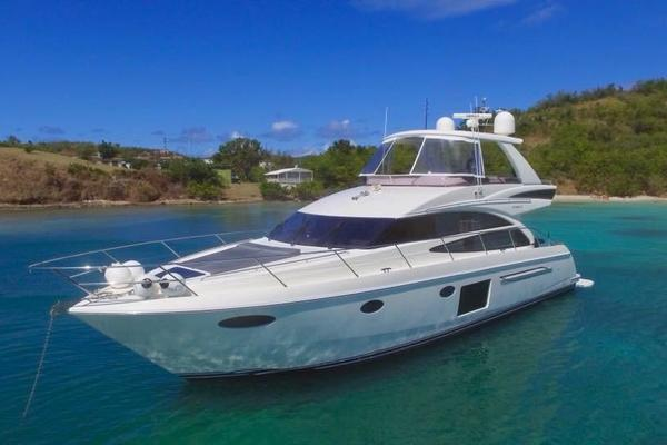 62' Princess 60 2013 | Sideways