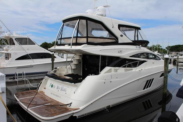 Picture Of: 59' Sea Ray L590 Fly 2016 Yacht For Sale | 2 of 32