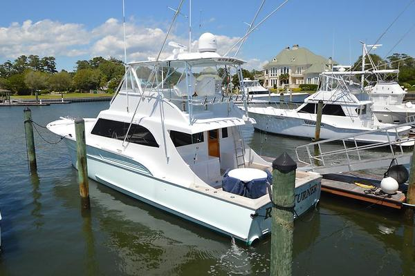 2003Buddy Davis 58 ft 58 Sportfish Convertible   Reel Turner