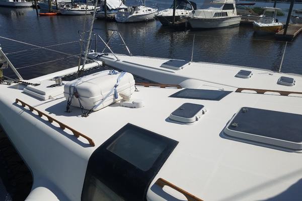 1990Privilege 48 ft 48 5 cabin catamaran   SHADOW