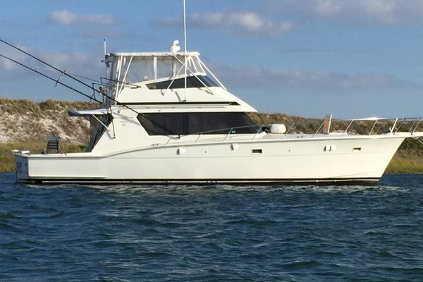 52' Hatteras 52 Convertible 1989 | Sea Horse