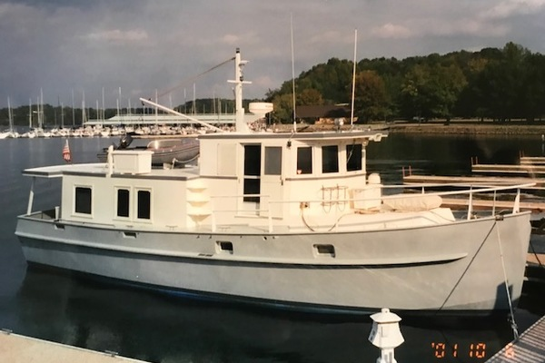 47' Custom Steel Hull Trawler 1989 | Grayling