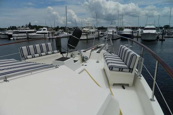 1989Hatteras 60 ft Motor Yacht   Windfall