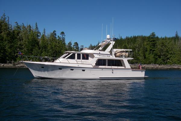 55' Offshore Yachts Pilothouse 1995 | Tempus Fugit