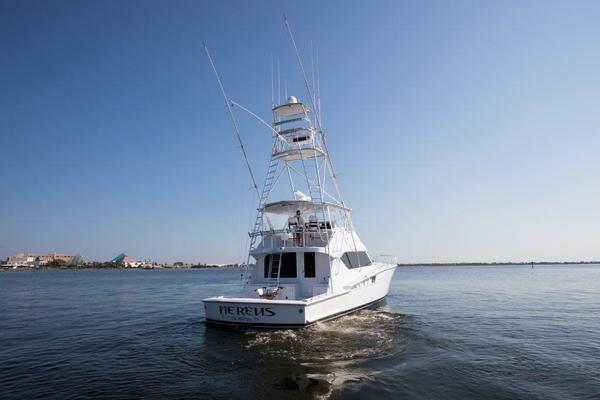 2001Hatteras 60 ft 60 Convertible   Nereus