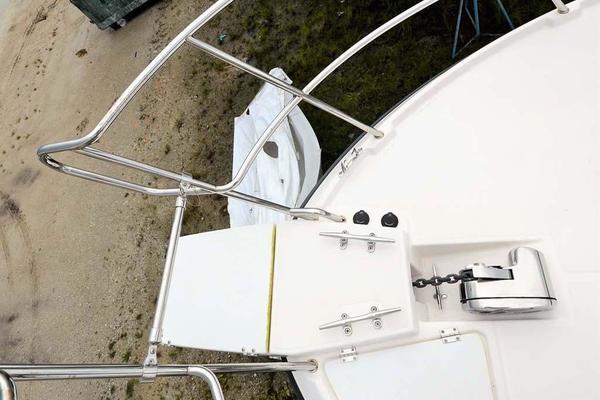 Bow Anchor and Beach Ladder
